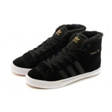 Зимние Adidas Aditennis Hilux черные